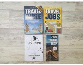 Travel Bible, Travel Jobs + zdarma checklist, mapa, odznáček