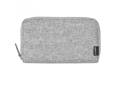 peneženka RFIDsafe LX250 tweed grey