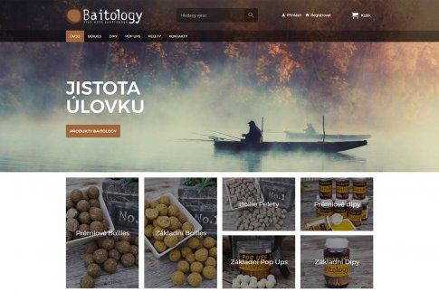 E-shop - Baitology.cz