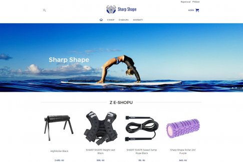 E-shop - SharpShape.cz