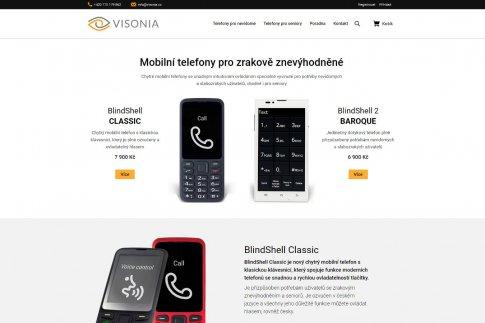 Mezinárodní e-shop - Visonia.cz
