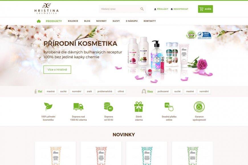 Mezinárodní e-shop - Hristina.cz