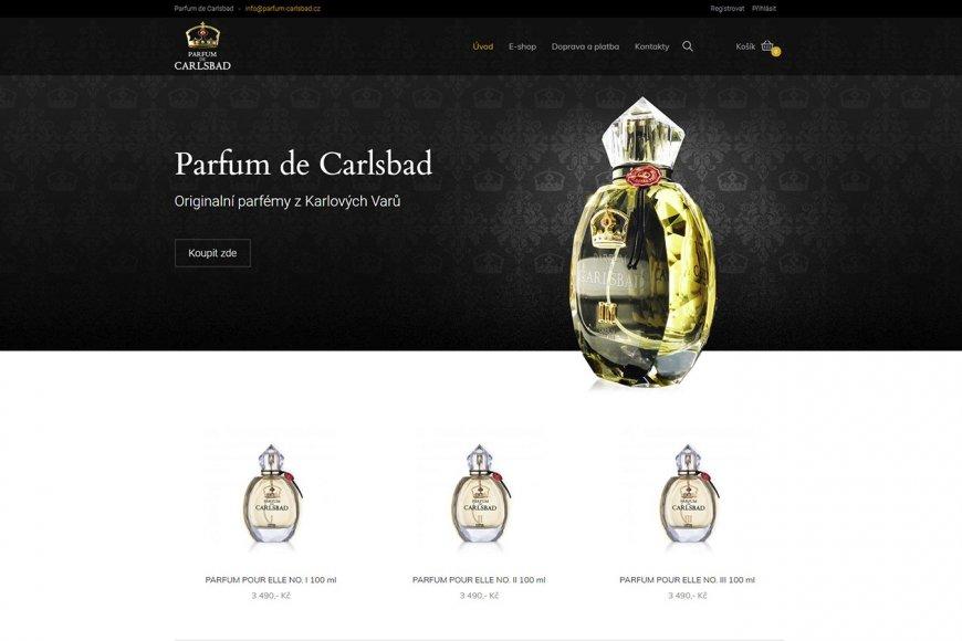 E-shop - Parfum-Carlsbad.cz
