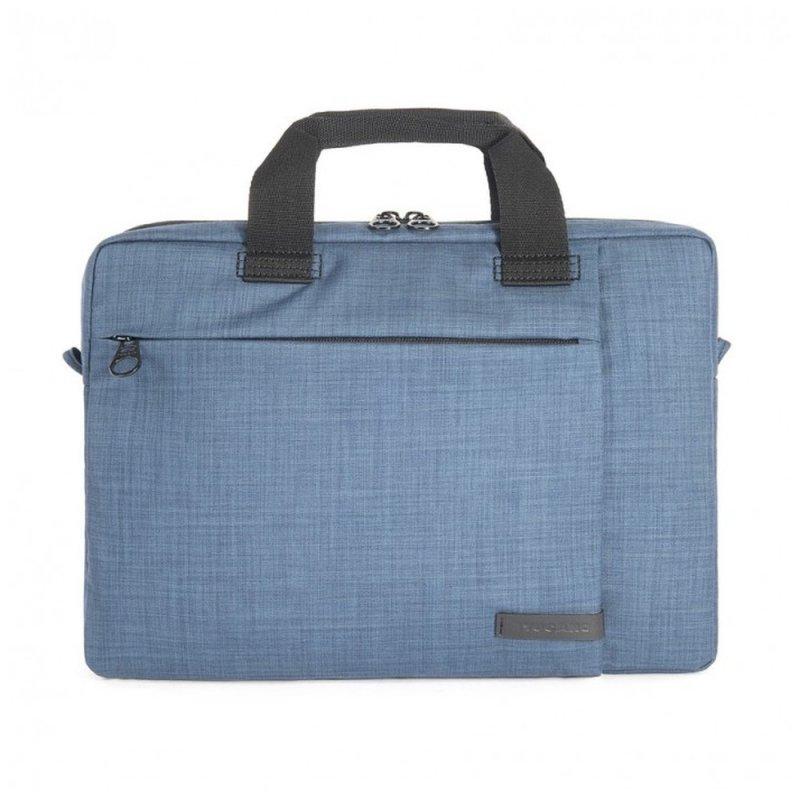 "Tucano Svolta Slim Bag Medium brašna pro MacBook Pro 13"" Retina nebo notebooky 13,3""-14"" modrá"