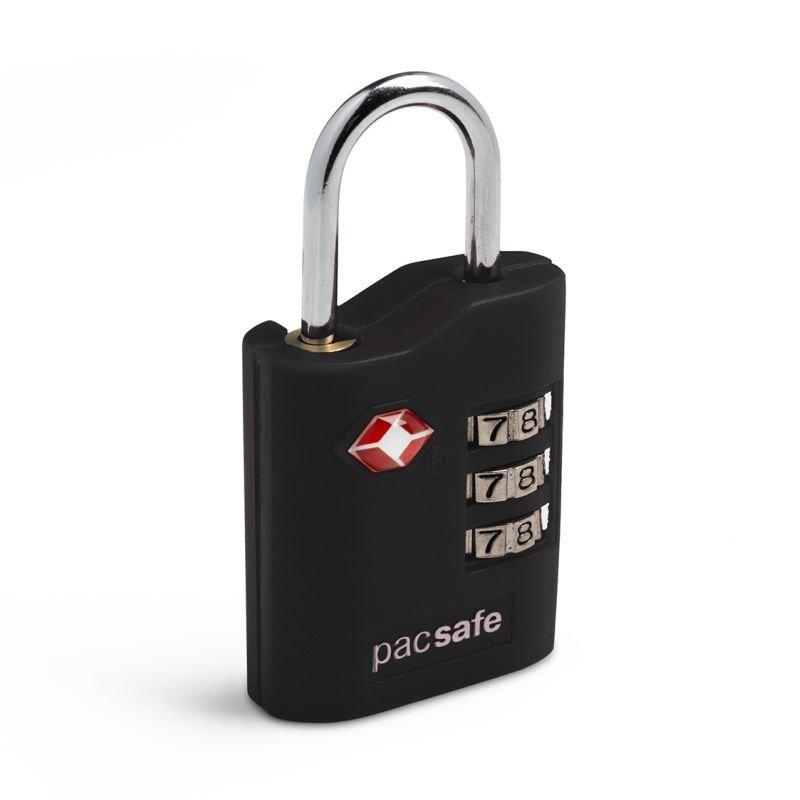 Pacsafe Prosafe 700 bezpečnostní kódový TSA zámek na zavazadla, černý