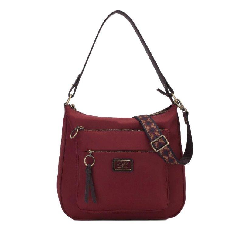 LiLiÓ Solid lilió M Shoulder Bag kabelka na/přes rameno 31 cm Burgundy