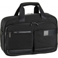 Titan Power Pack S Black palubní business taška na 13'' notebook 40x28x12/16 cm 1,1 kg