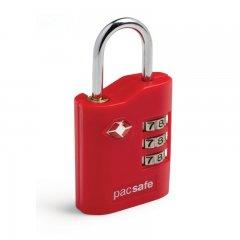 Pacsafe ProSafe 700 bezpečnostní kódový TSA zámek na zavazadla, červený
