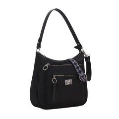 LiLiÓ Solid lilió M Shoulder Bag kabelka na/přes rameno 31 cm Black