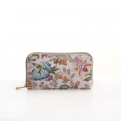LiLiÓ Folkloric Fun L Zip Wallet dámská peněženka 19,5 cm Whipped Cream