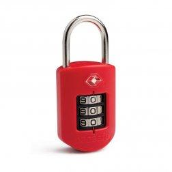 Pacsafe ProSafe 1000 bezpečnostní kódový TSA zámek na zavazadla, červený