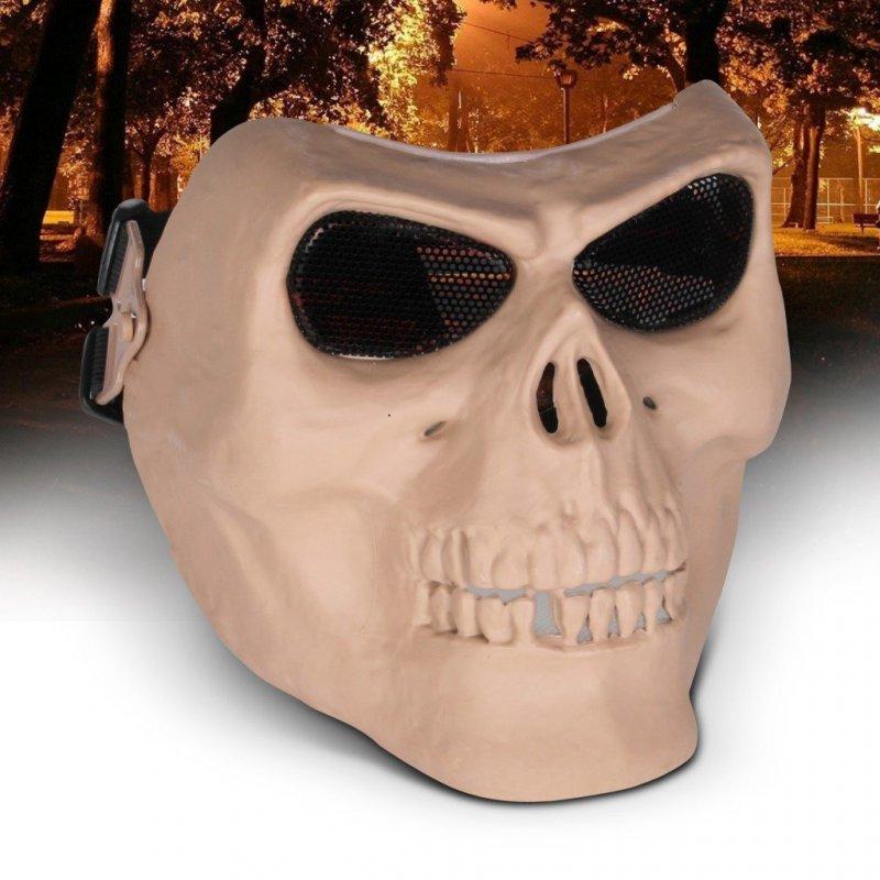 Sportovní maska lebka - celá