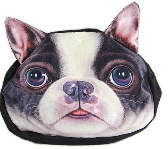 3D kabelka pes - Francouzský buldoček