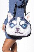 3D kabelka pes - Husky