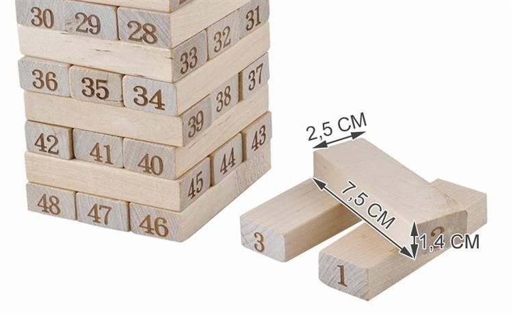 Rodinná hra Dřevěná věž
