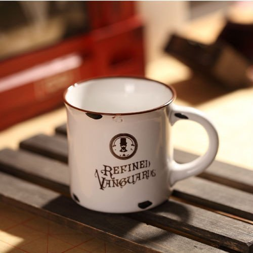 Porcelánový MINI retro hrneček - Refined Vanguards