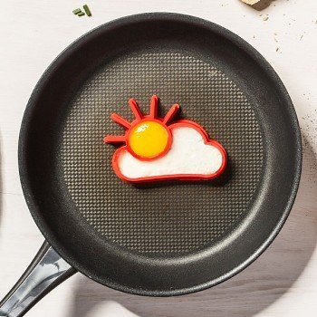 Silikonové formy na vajíčka - slunce a mrak