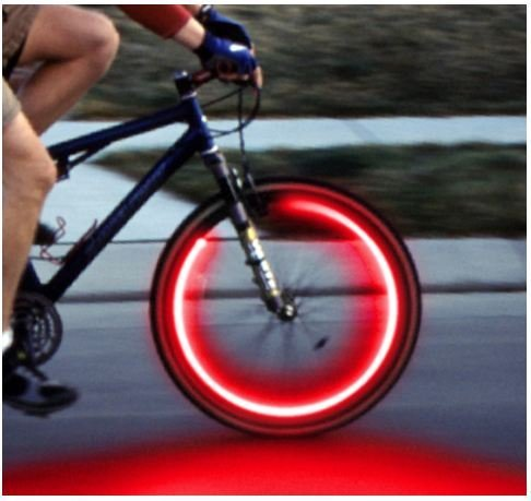 Svítící ventilky - červené