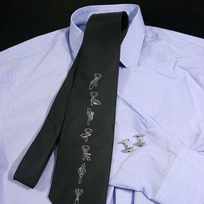 Kravata s návodem na vázání