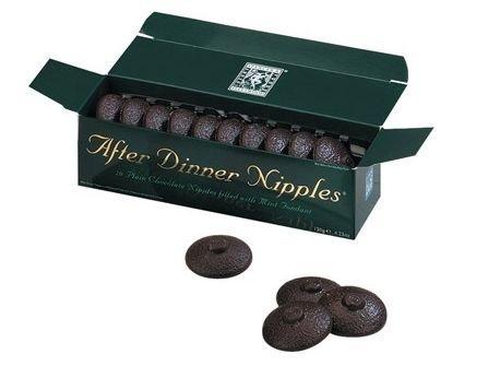 Bonboniéra čokoládové bradavky