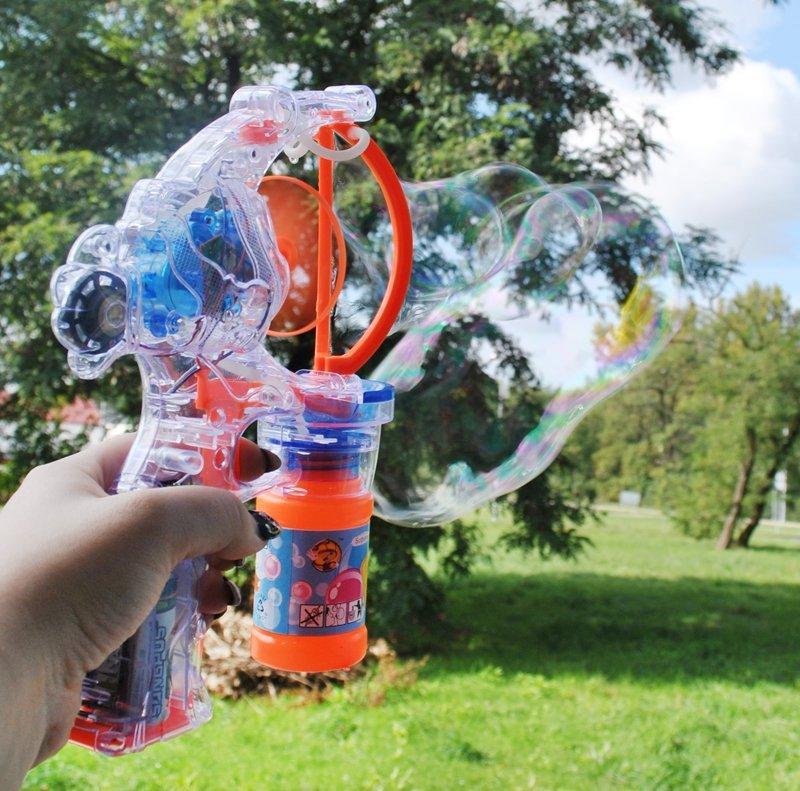 Bublinkový samopal