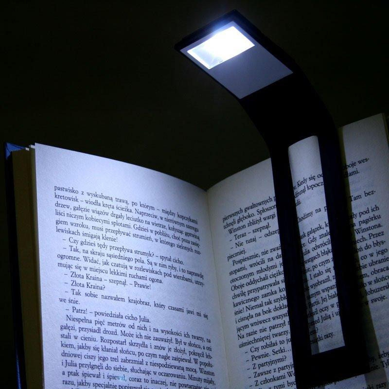 Ohebná lampička na knihu