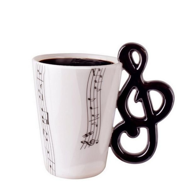Hrnek houslový klíč