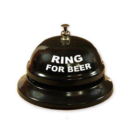 Stolní zvoneček na pivo