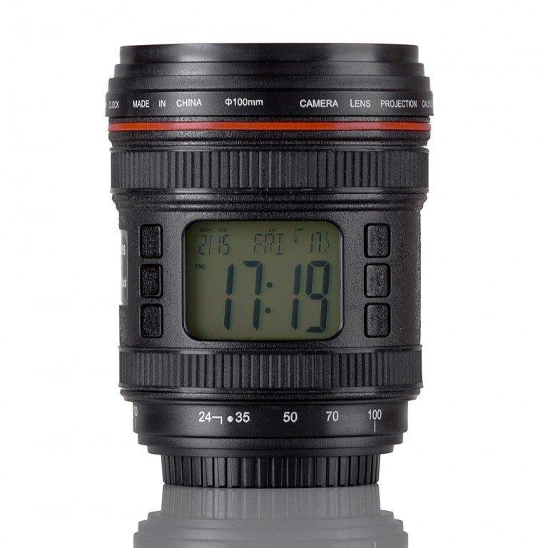 Budík objektiv lens cup