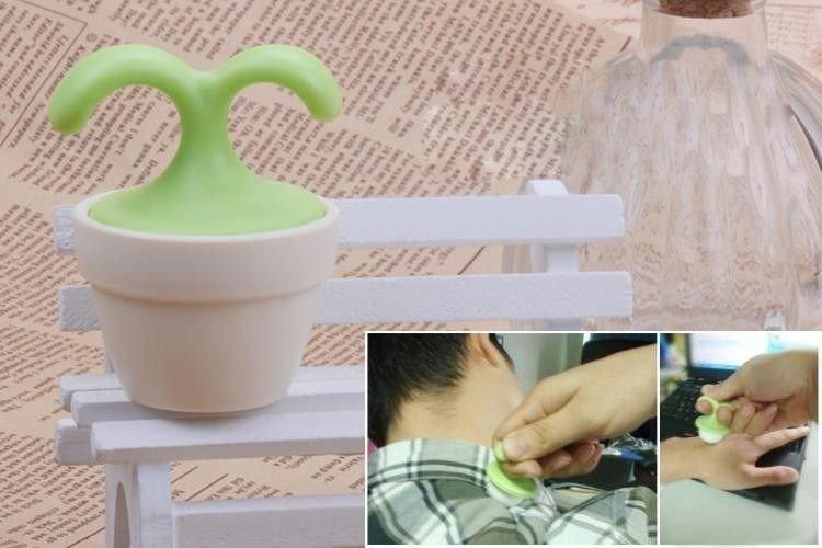 Mini masážní přístroj - květina
