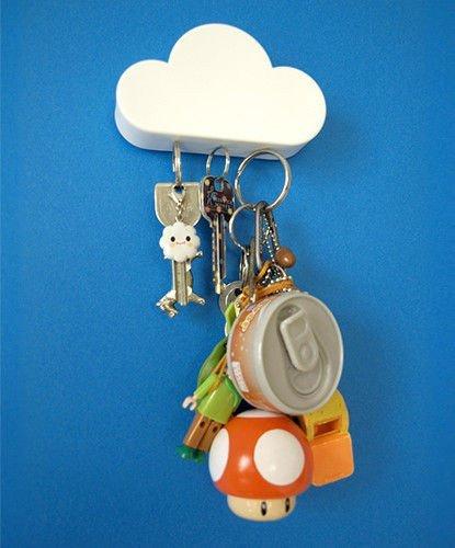Magnetický mrak na klíče