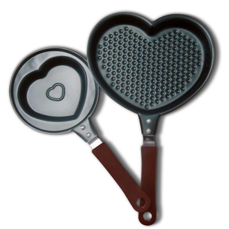 Pánvička ve tvaru srdce - 12 cm