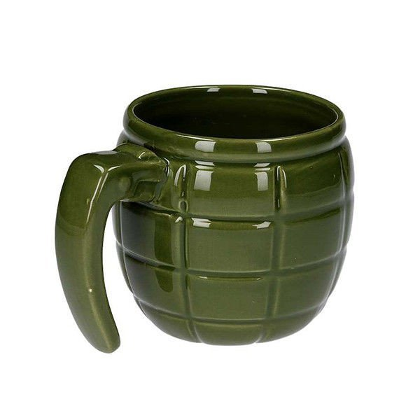 Hrnek ve tvaru granátu - zelený
