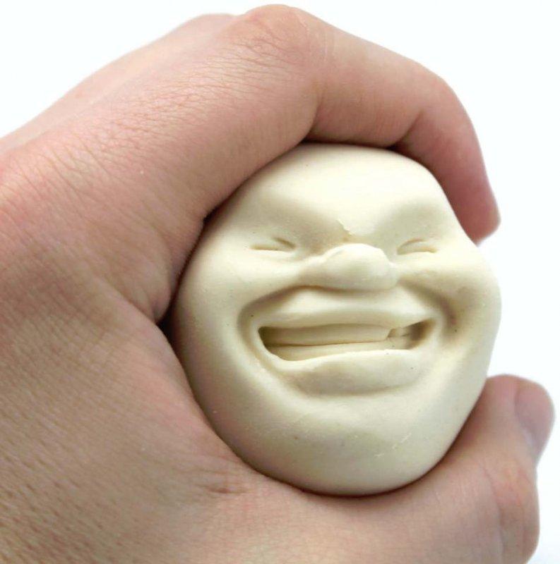 Antistresový obličej FACEBALL
