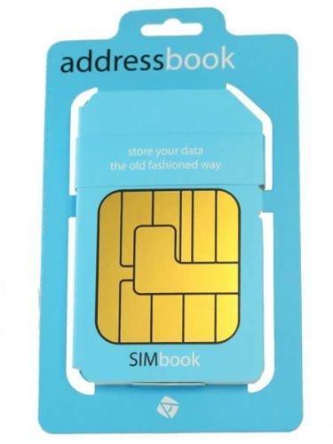 Adresář SIM