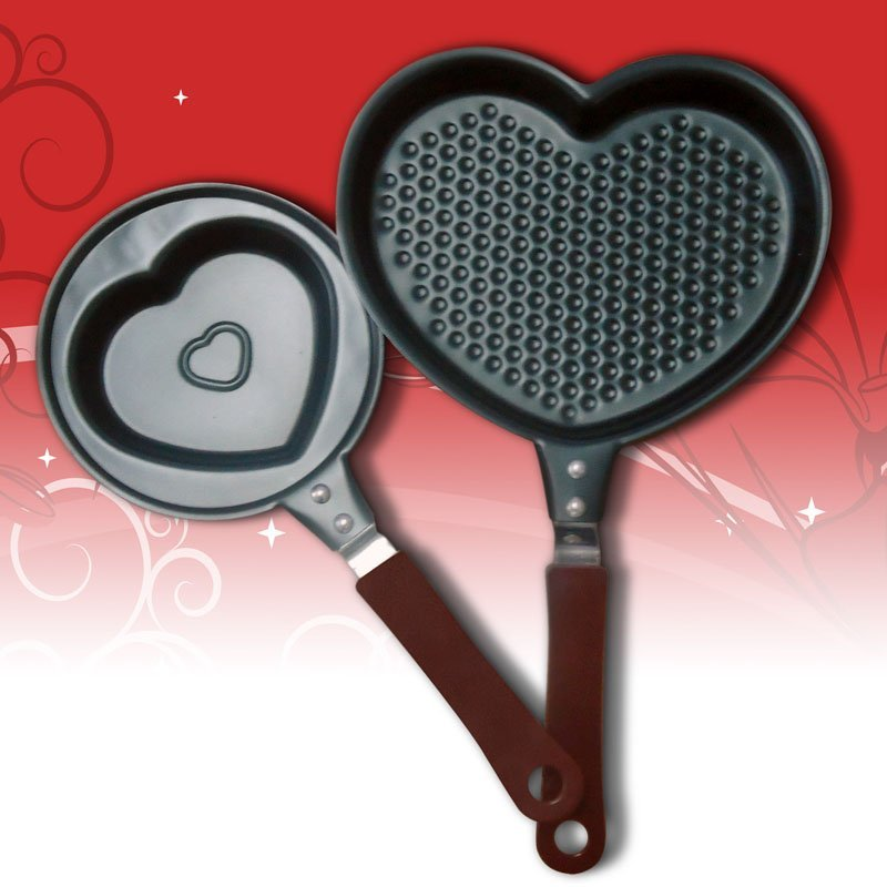 Pánvička ve tvaru srdce - 16 cm