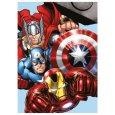 Micropolar fleece deka Avengers 100/140 cm
