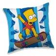 Polštářek Bart Simpson skater 40/40