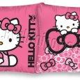 Povlečení na polštářek Hello Kitty mašličky 40x40