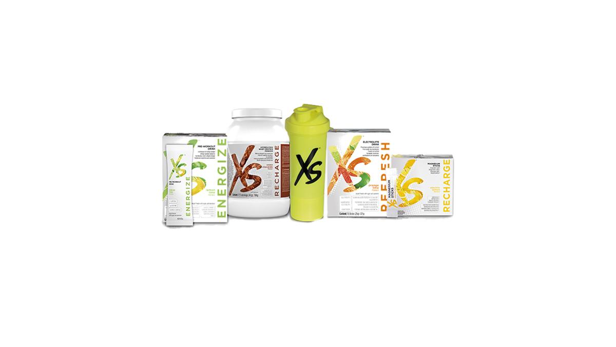 Výrobkové balíčky XS Sport NUTRITION