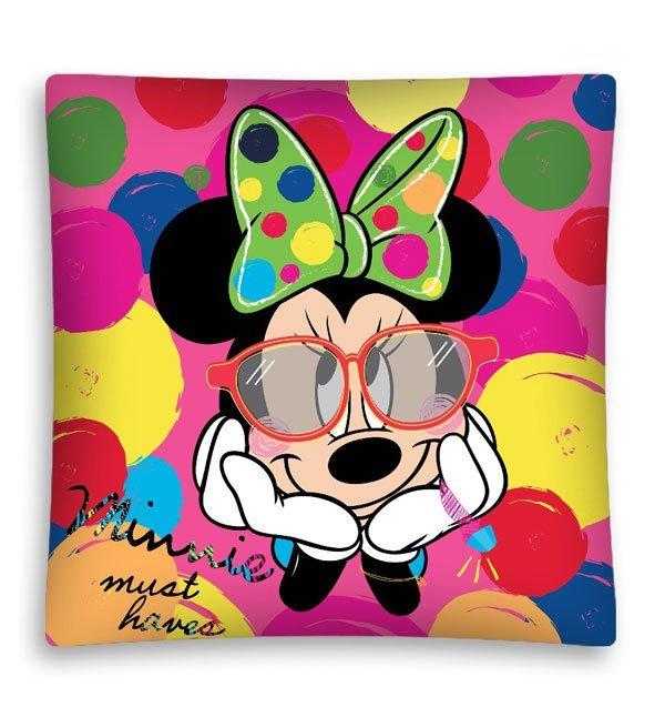 Povlak na polštářek Minnie puntíky micro 40/40