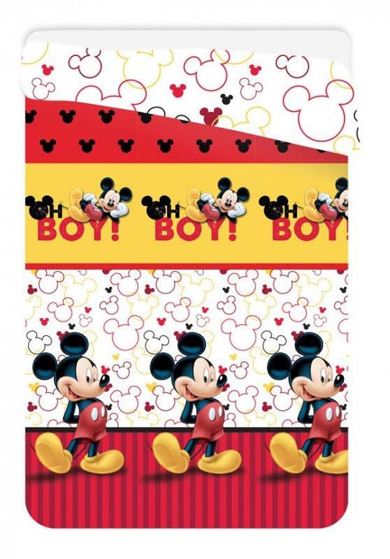 Prošívaná deka Mickey 180/260 cm