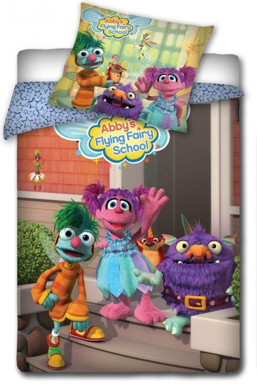 Povlečení Sesame Street School 140/200 cm