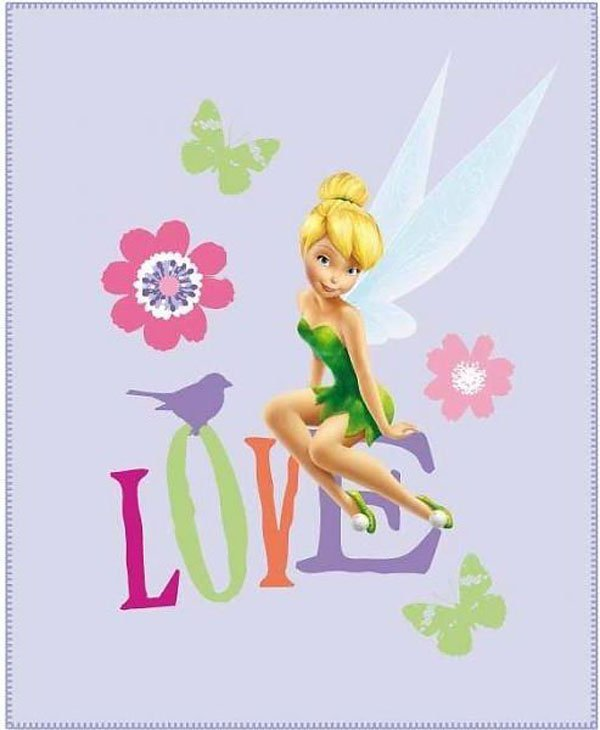 Fleece deka Fairies Love 110/140