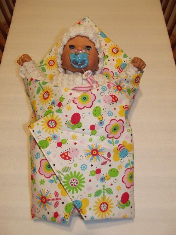 Rychlozavinovačka pro panenky kytičky