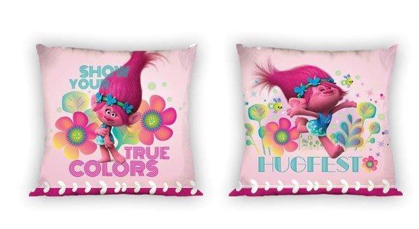Povlak na polštářek Trollové colors micro 40/40