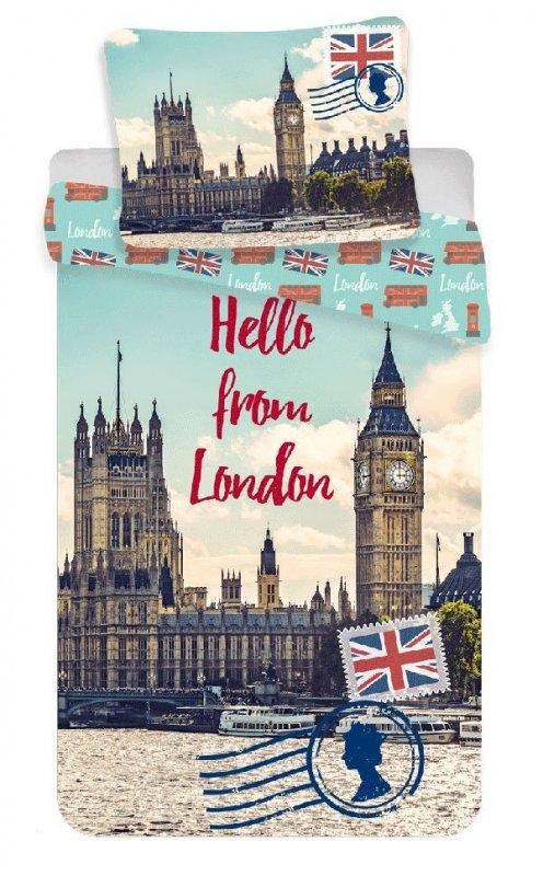 Povlečení Londýn Hello 140/200