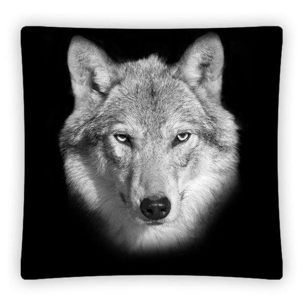 Povlak na polštářek Vlk micro 40/40