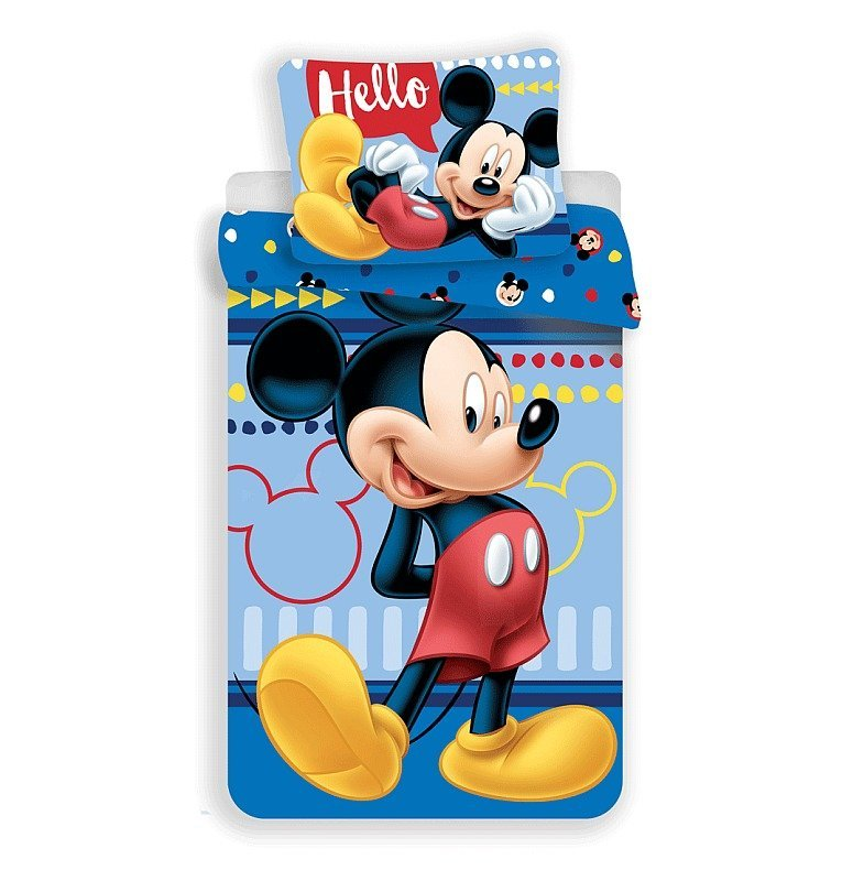 Povlečení Mickey 004 Hello 140/200, 70/90