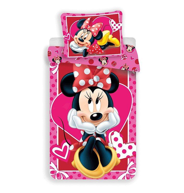Povlečení Minnie hearts 02 140/200, 70/90